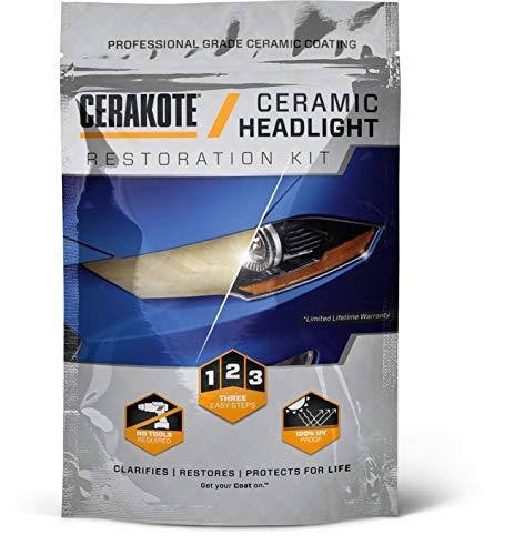 Cerakote Ceramic Headlight Restoration