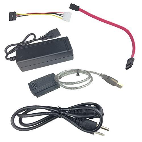 Computer Disk Pata (RXinP USB 2.0 to SATA/PATA/IDE Adapter Converter Cable 2.5