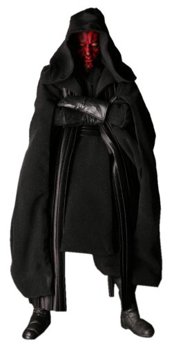 Star Wars Medicom Deluxe 12 Inch Collectible Figure Darth Maul Sith Apprentice ()