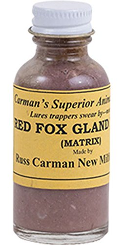 Red Fox Gland Lure by Russ Carman (4 oz. Bottle)