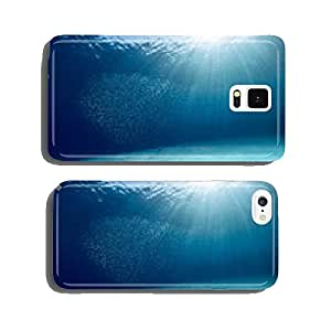 Blue sea cell phone cover case Samsung S5