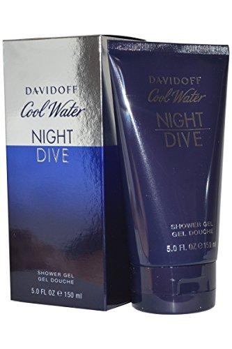 Davidoff Cool Water Night Dive Shower Gel, 15 Ounce