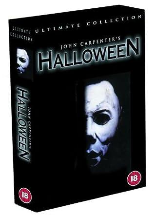 Halloween Dvd Box Set.Halloween The Ultimate Collection Six Disc Box Set Dvd Amazon Co