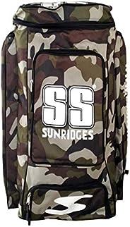 SS Premium Camo Duffle Cricket Kit Bag - Camo Green and Camo Blue