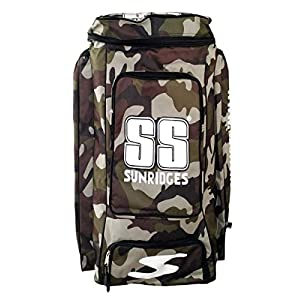 SS Camo Duffle kit bag – Green