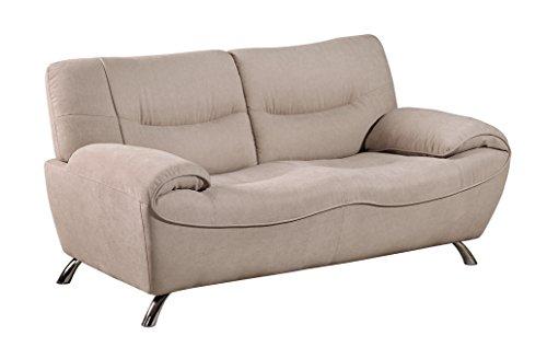 Global Furniture U7532 -DTT457 – L Fall Hazelwood Loveseat, Taupe