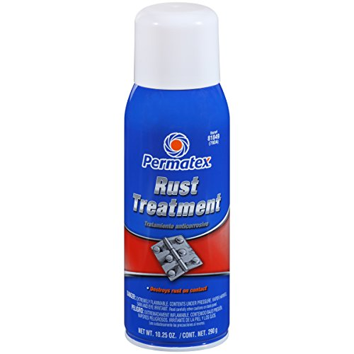 - Permatex 81849 Rust Treatment, 10.25 oz. net Aerosol Can