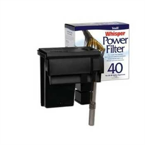 Power Filter Pump - Tetra Whisper Power Filter for Aquariums, 3 Filters in 1