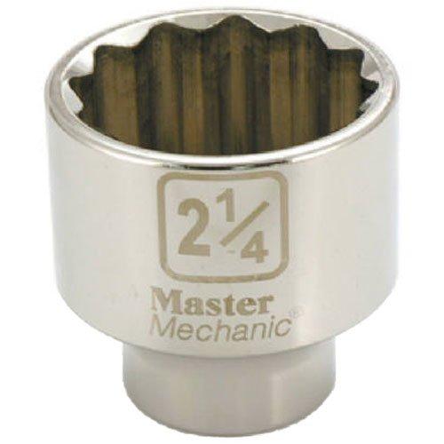 "Standard Plumbing Supply 374835 APEX TOOL GROUP-ASIA Master Mechanic 3/4"" Drive 12 Point Socket, 2-1/4"""