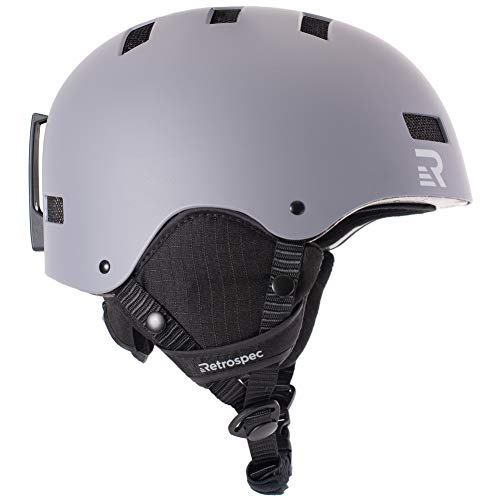 Retrospec Traverse H1 Convertible Ski & Snowboard/Bike & Helmet