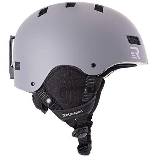 Ski Helmets Skiing & Snowboarding Skiing Snowboard Helmet Certified Safety Helmet Professional Skiing Snow Sports Helmet Detachable Earmuff Built-in Goggles Perfect In Workmanship