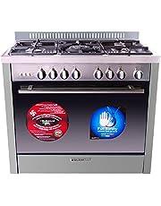Glem Gas M965RI Matrix Gas Cooker 5 Burners , 2724539614306