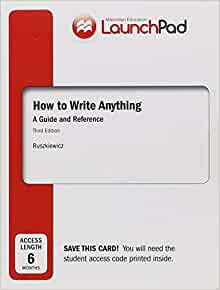 Ruszkiewicz how to write anything online