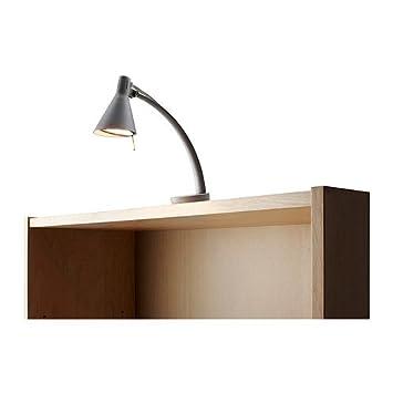 Bilderleuchte Ikea ikea non kabinett bilderleuchten silberfarben amazon de küche