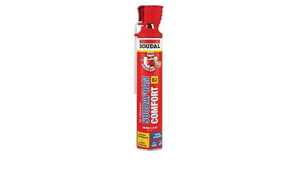 Soudal Souda Foam Comfort B2 Genius Gun | Espuma de poliuretano - Adaptador Profesional | ||| Genius Gun |||, contenido: 750 ml: Amazon.es: Bricolaje y ...