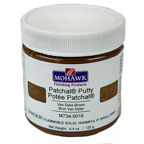 Products Putty - Mohawk Finishing Products Patchal Putty (Extra Dark Walnut): Wood Putty