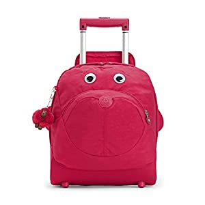 Kipling School Bag BIG WHEELY True Pink