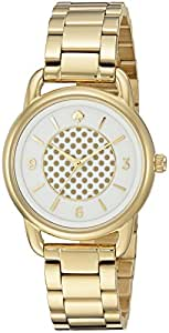 kate spade new york Women's KSW1166 Boathouse Analog Display Quartz Gold Watch