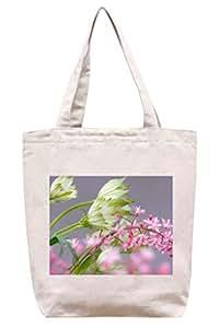 Beautiful Flower–Algodón Canvas Tote Bag