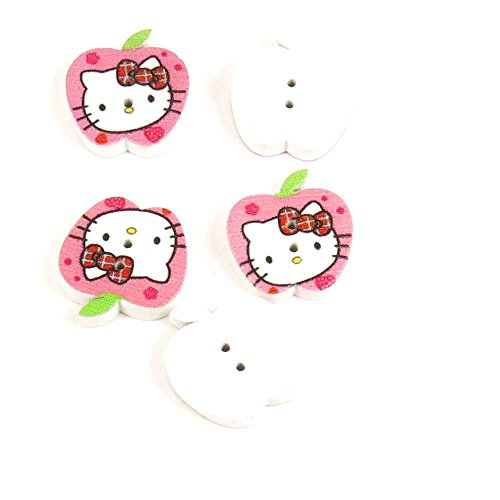 hello kitty buttons for sewing - 7