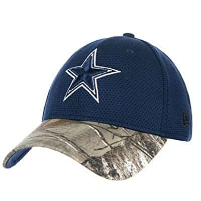 Dallas Cowboys Real Tree Perf 39THIRTY Flex Fit Hat / Cap