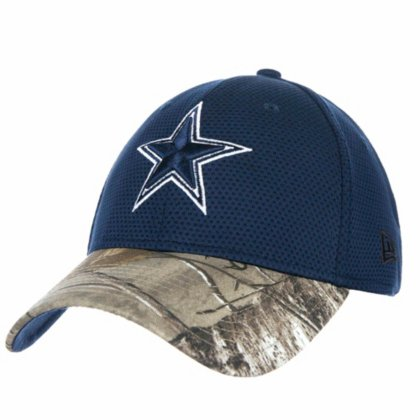 d302a40dc Dallas Cowboys Real Tree Perf 39THIRTY Flex Fit Hat   Cap Medium   Large