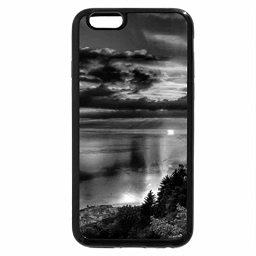 iPhone 6S Plus Case, iPhone 6 Plus Case (Black & White) - At The End of Day Reflections