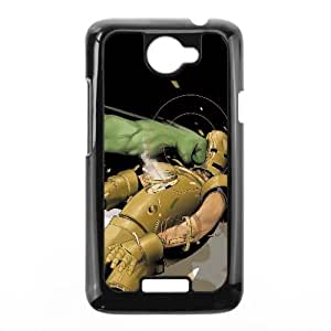 Hulk And Iron Man Comic HTC One X Cell Phone Case Black y2e18-367868