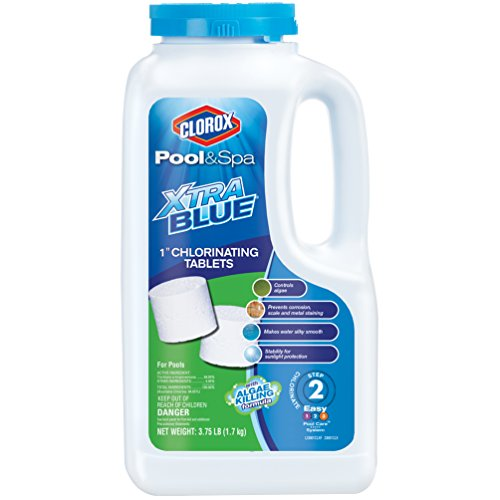 "CLOROX Pool&Spa 23001CLX Xtrablue 1"" Chlorinating Tablets"