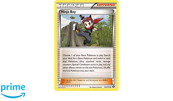Pokemon Card Ninja Boy 103/114: Amazon.es: Juguetes y juegos
