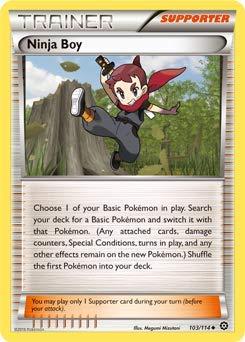 Pokemon Card Ninja Boy 103/114: Amazon.es: Juguetes y juegos