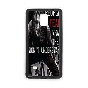 LSQDIY(R) Motionless In White Samsung Galaxy Note 4 Case, Custom Samsung Galaxy Note 4 Phone Case Motionless In White