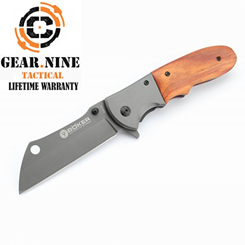 Böker knife Camping EMT Pocket folding hunting GUTTING FISH
