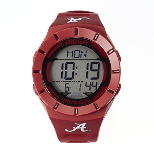NCAA Alabama Crimson Tide Men's Coliseum Watch, Adjustable, (Alabama Crimson Tide Alarm)