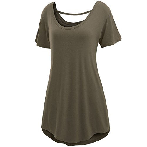MTTROLI - Camisas - para mujer Ejercito Verde