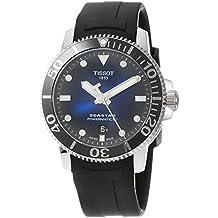 Tissot Seastar Watch 1000 Automatic Black Rubber Blue Dial T120.407.17.041.00