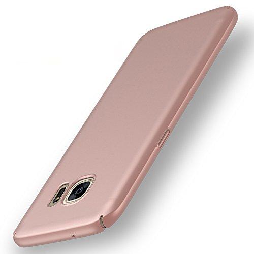 anccer Funda Galaxy S7, Samsung Galaxy S7 Case [Serie Colorida] [Ultra Delgado] [Anti-Drop] ultrafin Premium Carcasa (Oro...