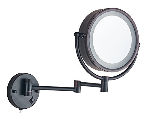 Wall Mounted Led Lighted Magnifying Mirror in US - 8