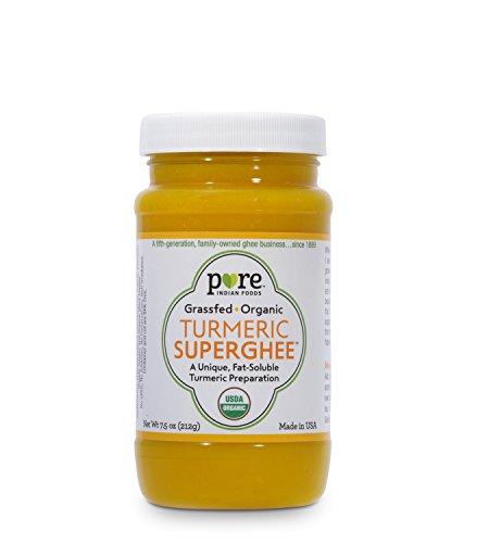 Turmeric Superghee 7.5 oz, Certified Organic