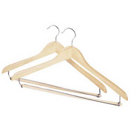 Whitmor GRADE A Wood Suit Hangers (Set of 2)
