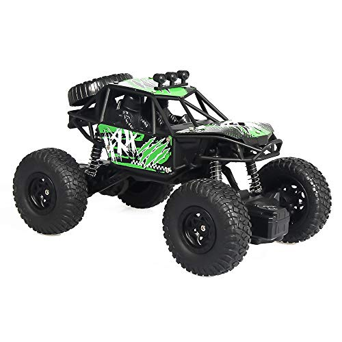 Radio Remote Control Car 2.4G 1:20 RC High Speed 6.2 mph All Terrain Off-Road RC Car RTR Rechargeable Double-Wheeler Pickup Truck Car Stimulates Brain Development Best Gifts for Kids Boys