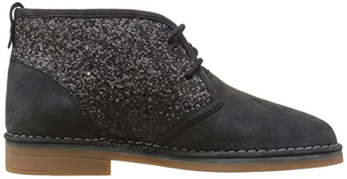 Hush Catelyn Bootie Black Cam Ankle Glitter Puppies Women's 4rtwqr