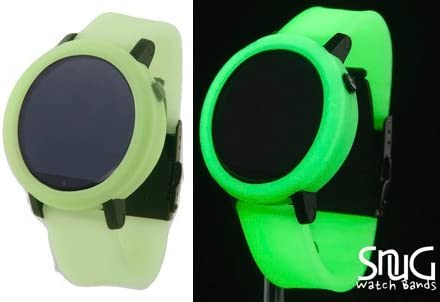 4 GREEN GLOW IN THE DARK QUICK RELEASE BUMPER REPLACEMENT RUBBER BAND O-RING