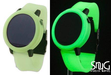 Glow in the Dark SnuG Watchbands Moto360 22mm Replacement Wa