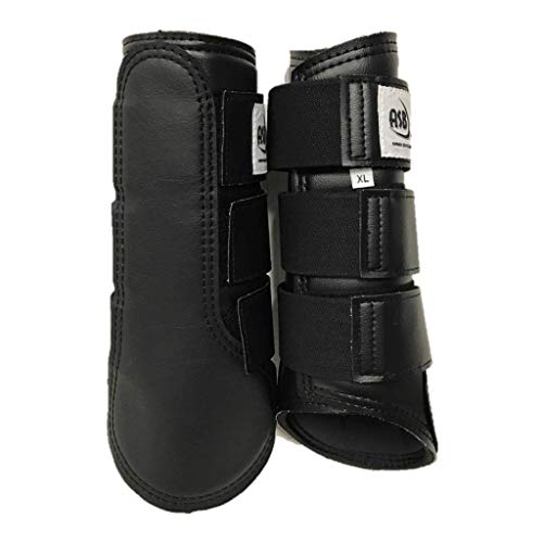 All Sport Horse Boots, Large, Black, Pair