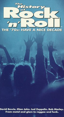 History of Rock & Roll 8: The 70's [VHS] (Peter Frampton David Bowie)