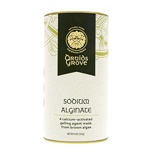 Druids Grove Sodium Alginate ☮ Vegan ⊘ Non-GMO ❤ Gluten-Free ✡ OU Kosher Certified - 8 oz. (Best Antacid For Lpr)