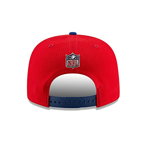 New 2017 York Giants Game 9fifty Cap Authentic Nfl Era Red Sideline Snapback 4xq6Zra4w