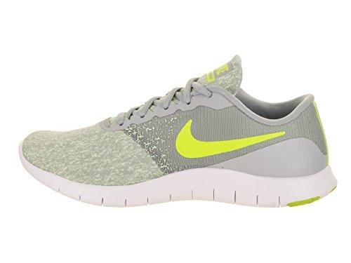 Nike Femmes Contact Souple Chaussure De Course Loup Gris / Volt-à Peine Volt-blanc