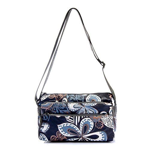 Tote Shoulder Bags Sports Small Bag Oxford for Women Butterfly Portable Printed Cute Cross Body Gym Outdoor 7qPYxwtq